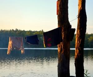 Dusk on Loucks Lake