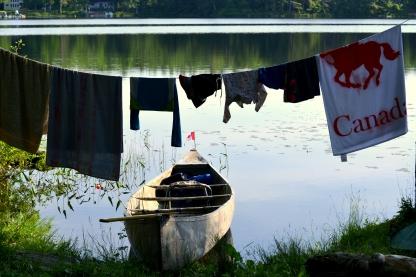 Dawn on Loucks Lake