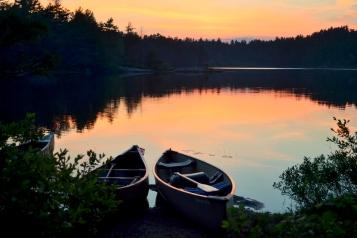 Sunset on Cox Lake