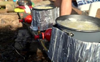 MSR Whisperlite stoves.