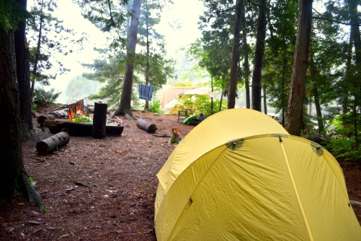 Camp site # 1 on Bell Lake