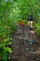 Hiking 'Silver Peak' trail