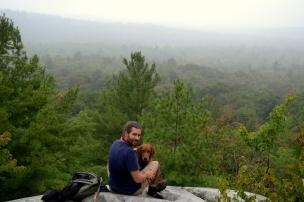 Hiking up to Silver Peak, Killarney
