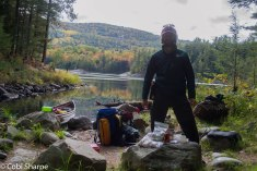 Lunch at Muriel Lake
