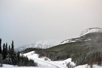 Alaska Highway. Rancheria, Yukon