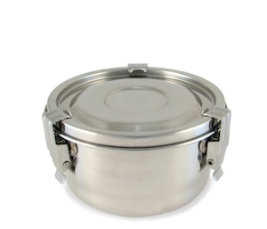 Sanctus Mundo airtight stainless steel container