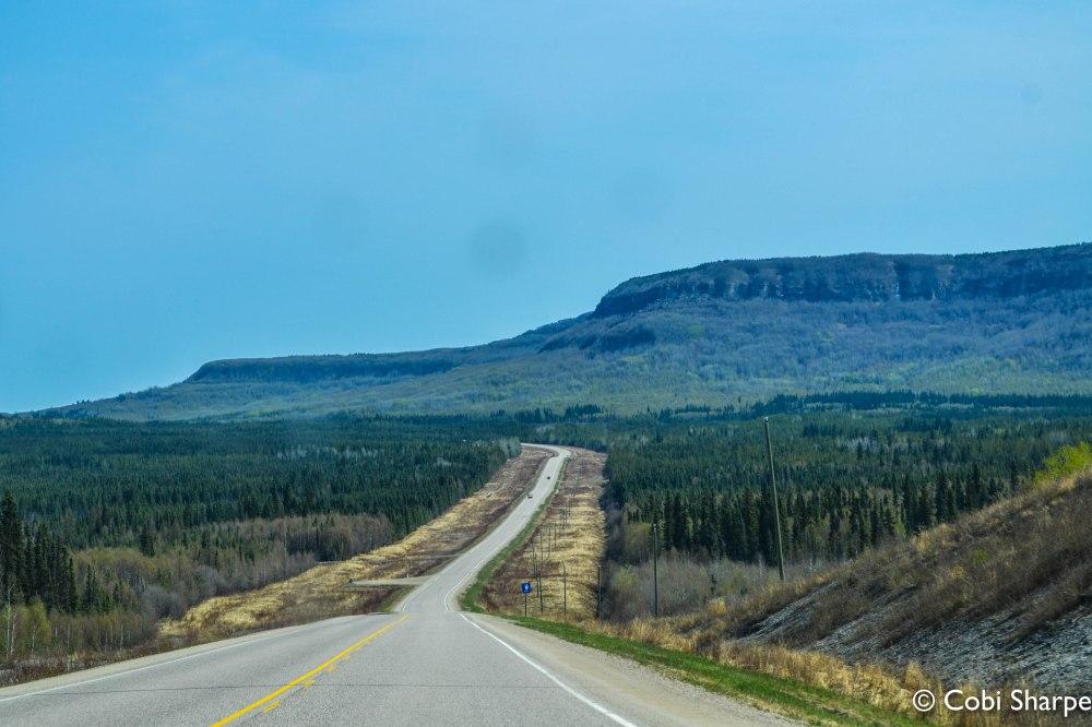 Alaska Highway in B.C.