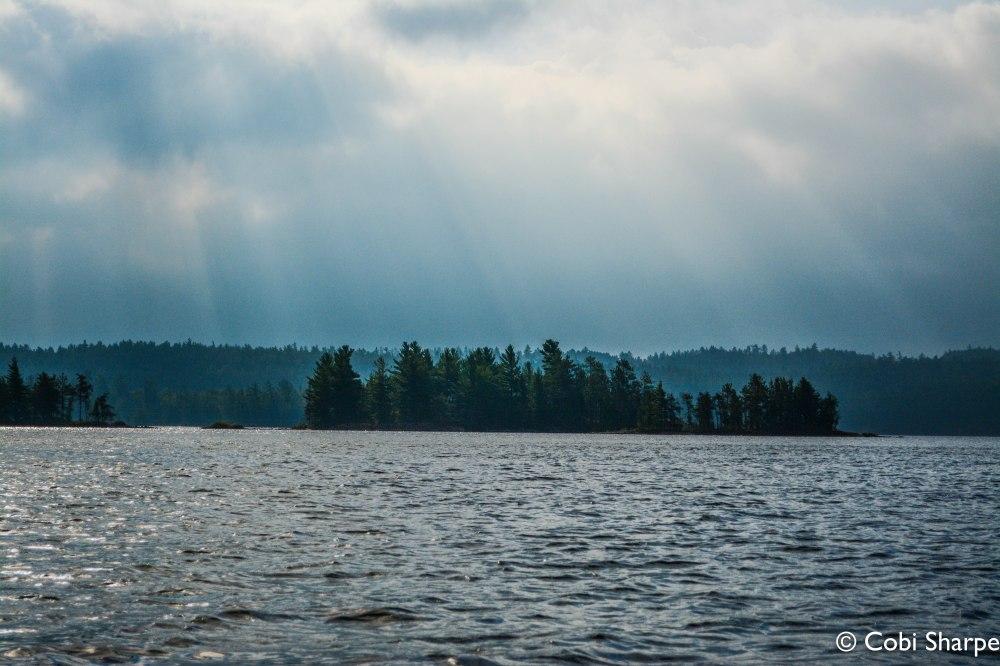 Big waters of Kukagami Lake