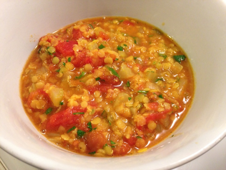 Mexican Lentil Stew, my favourite!