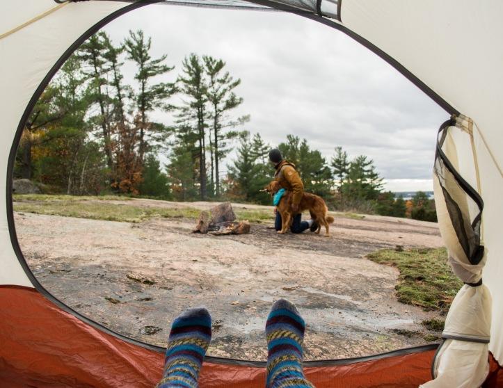 Invisible Self Portrait - the camper