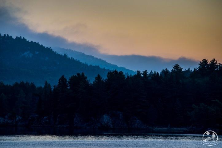 Autumn Sunrise in Killarney Provincial Park