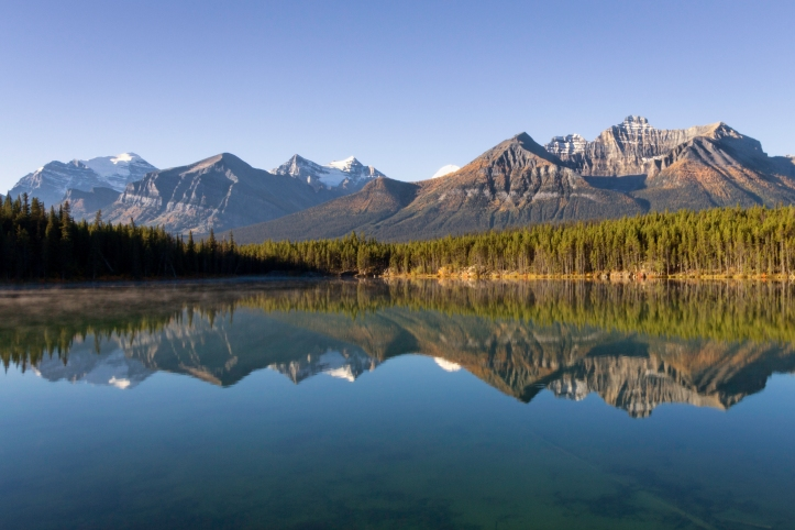 Hector Lake, Banff. Photo by Nicole Atkins