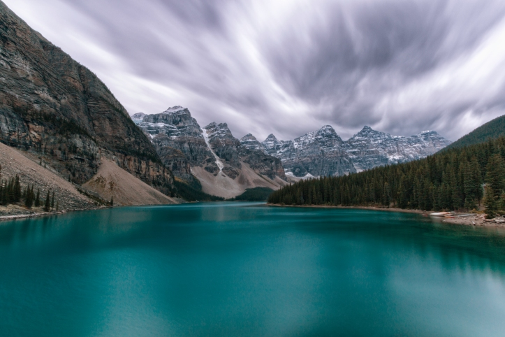 Moraine Lake, Banff. Photo by Nicole Atkins