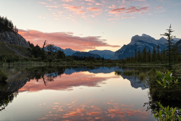 Vermilion Lakes, Banff. Photo by Nicole Atkins