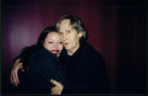 Me and Levon in Teaneck, New Jersey (2004)
